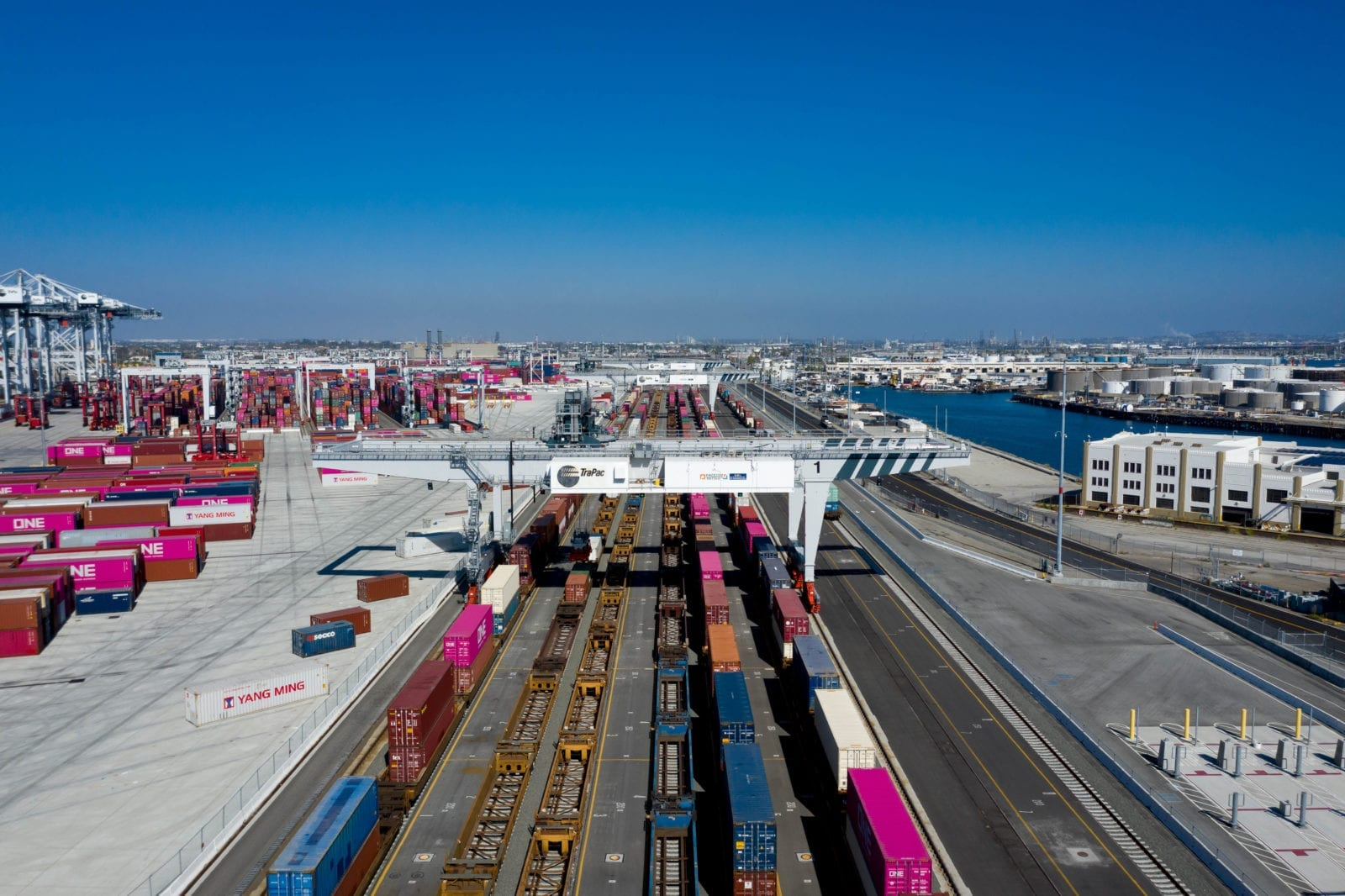 TraPac Los Angeles On-Dock Rail