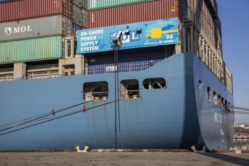 TraPac Alternative Maritime Power