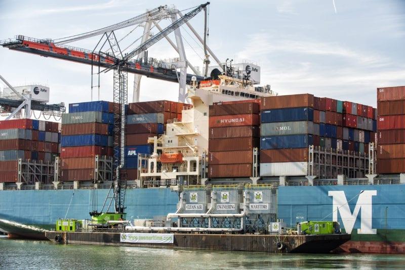 TraPac Bonnet (Vessel Emission Capture System)