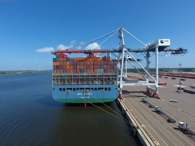 TraPac Jacksonville Ship-to-Shore Crane