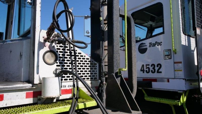 TraPac Oakland Yard Trucks
